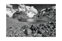 Load image into Gallery viewer, Laguna de los Tres with Mount Fitzroy, Monochrome