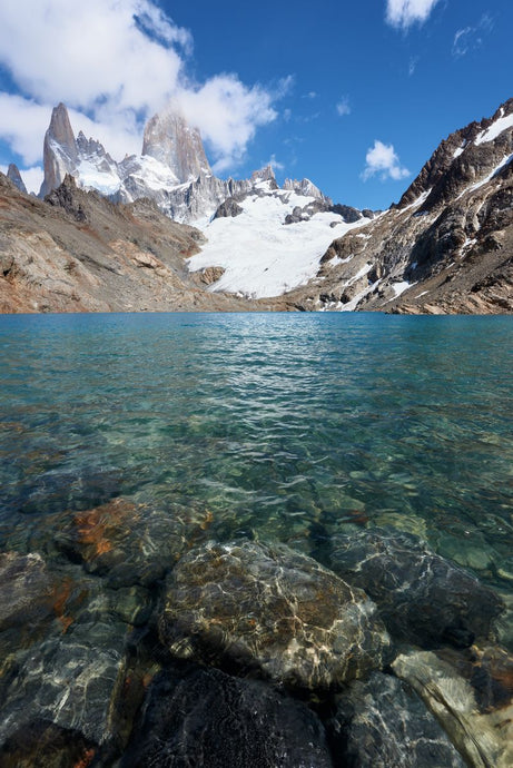 Clear Water Lake in Patagonia