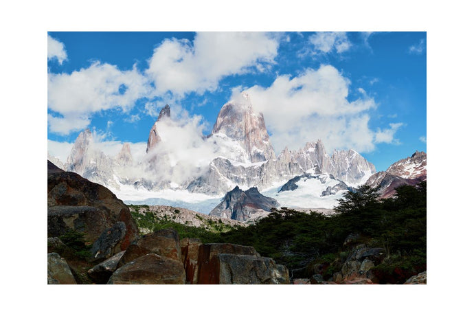 Mount Fitzroy in Patagonia, Argentina