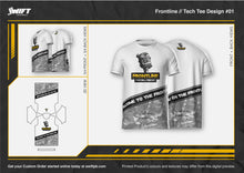 Load image into Gallery viewer, Frontline Podcast Tech Tee