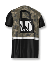 Load image into Gallery viewer, Tropical Camo Tech Tee - LockDown Team Store