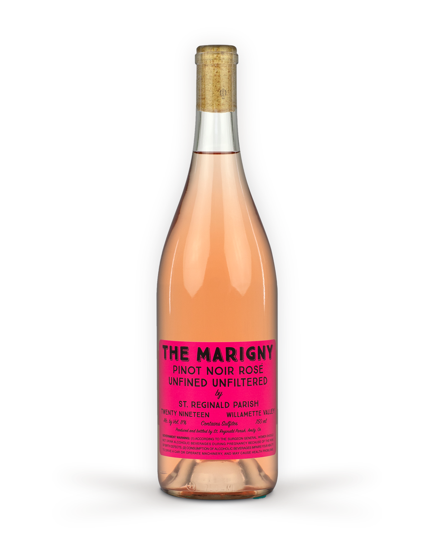 2019 Pinot Noir Rosé, Unfined Unfiltered