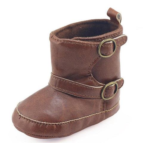 Infant Newborn Baby Winter Boots Soft Sole Prewalker Crib Boots Baby Boy Girl Winter Warm Martin Shoes Moccasins Baby Schuhe
