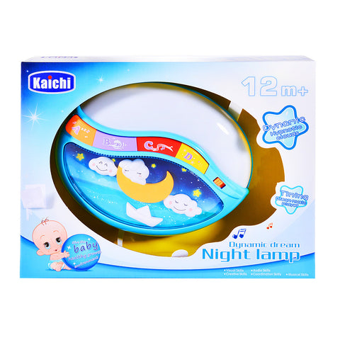 Electric Night Lamp Toy for Baby with Music and Light