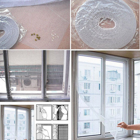 Insect Fly Mosquito Window Net Netting Mesh Screen New curtains