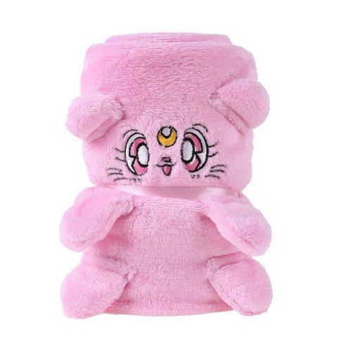 Baby Rest Blankets Animal Blanket Soft Warm flannel Swaddle Kids Bath Towel Baby Toddler Bedding Office Blankets