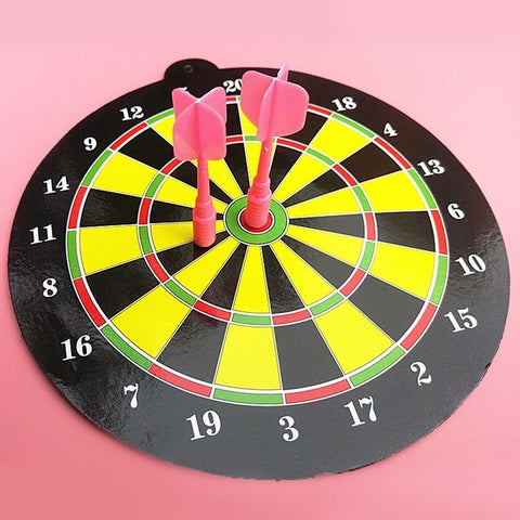 Baby Toy Magnetic Safety Dart Target Developmental Baby Toys (color random)