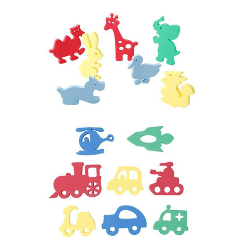 1 Set Kids Letters Bath Puzzle Soft EVA Baby Bath Puzzles Foam Floating Toy Kids Early Educational Toys Classic Toys