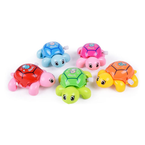 1pc Baby Toys Mini Clockwork Tortoise Children Animal Turtle Toys Baby Wind Up Toys Random Color