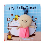 Early Childhood Education Baby Baby Toy Cloth Book Enlightenment Baby Toy Bath Toy Children's Book