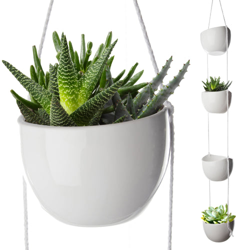 4-Tier Hanging Plant Holder (Amazon)