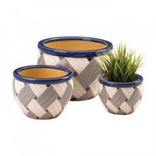 Load image into Gallery viewer, Geo Print Planter Trio (UHG)