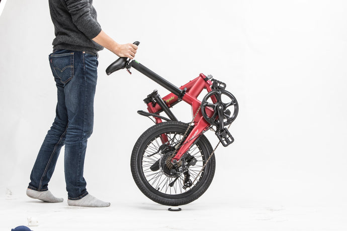 How to fold your bike:step by step