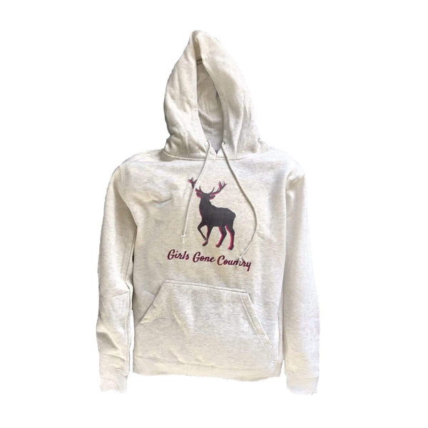 Girls Gone Country Hoodie - Cream