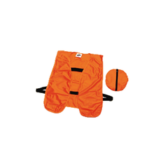 Blaze Orange Packable Safety Vest