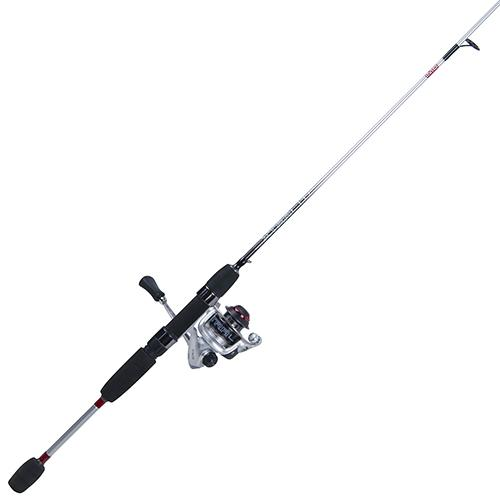 Xtralite Spinning Combo 5.2:1 Gear Ratio, 3+1 Bearings, 6' 2pc Rod, 2-6 lb Line Rate, Ambidextrous