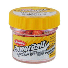 PowerBait Sparkle Power Eggs Floating Magnum Soft Bait Fluorescent Orange with Scales
