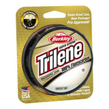 "Trilene 100% Fluorocarbon Professional Grade Line Spool 200 Yards, 0.019"" Diameter, 25 lbs Breaking Strength, Green Tint"