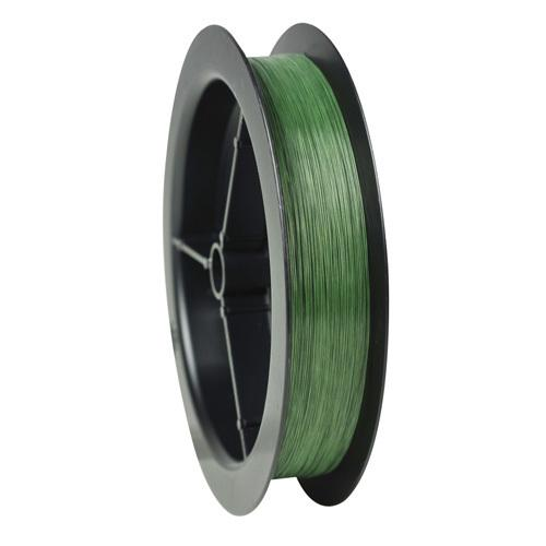 "EZ Braid Superline Line Spool 110 Yards, 0.010"" Diameter, 30 lbs, Break Strength, Moss Green"