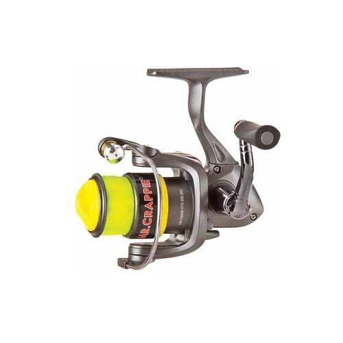 "Mr. Crappie Slab Shaker Spinning Reel 5.2:1 Gear Ratio, 23"" Retrieve Rate, 70/6 Line Capacity"