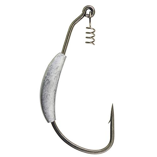 Fusion19 Hooks Weight Swimbait Size 4/0, Smoke Satin, Per 4