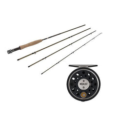Medalist Fly Kit 3/4 Reel Size, 1.1:1 Gear Ratio, 8' Length, 4 Piece Rod, 4wt Line Rating