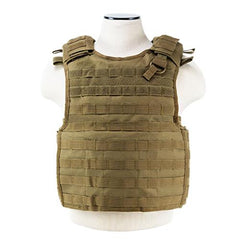 Quick Release Plate Carrier Vest Tan