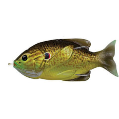 "Sunfish Hollow Body Freshwater, 3 1/2"", #4/0 Hook. Topwater Depth, Bronze Pumpkinseed"