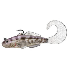 "Goby Single Tail Freshwater, 3 1/4"", #1/0 Hook, Variable Depth, Violet/Smoke"