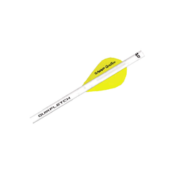 "NAP 2"" Speed Hunter Quikfletch White/Yellow/Yellow"