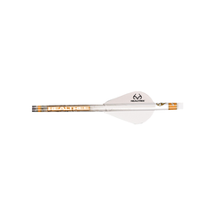 "NAP 2"" Speed Hunter Quik Fletch Reatlree Wrap w/All White Vanes"