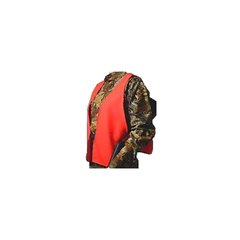 HS Hunting Vest Blaze Orange Cotton