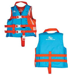 Stearns Child Antimicrobial Nylon Life Vest - 30-50lbs - Wave