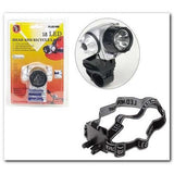SALE Closeout 18 Bulb Led Head Lamp FL8218