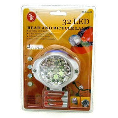 Sale Closeout 32 Bulb Head & Bicycle Led Light FL8232B