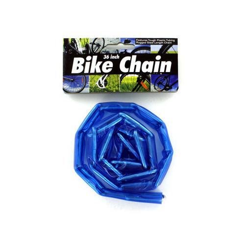 Plastic Coated Bike Chain ( Case of 72 )