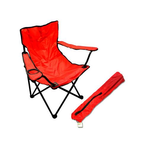 Portable Folding Chair with Drink Holder ( Case of 1 )