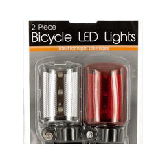 Bicycle LED Lights Set ( Case of 12 )