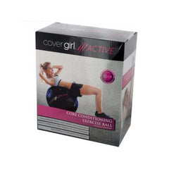 Cover Girl Active Core Conditioning Exercise Ball with Air Pump ( Case of 2 )