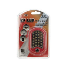 27 LED Utility Light with Magnet & Hook ( Case of 12 )