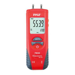 2-in-1 Digital Anemometer & Thermometer - Air Velocity (Wind), Air Flow (Volume) and Temperature Meter