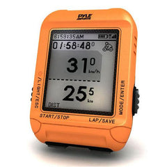 Smart Bicycling Computer with GPS Performance & Navigation Analysis Software and ANT+ Technology for Biking, Training, Exercise, Fitness (Orange Color)