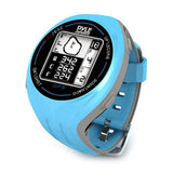 Personal GPS Golf Watch with Automatic Course Recognition (Preloaded USA Golf Courses) (Blue Color)