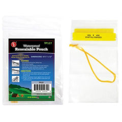 10-1/2 in X 14 in Waterproof Pouch Large TP127