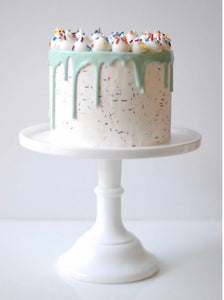 Funfetti Meringue Triple Layer Cake