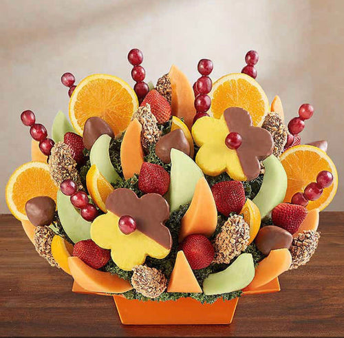 Bountiful Harvest Fruit & Chocolate Basket