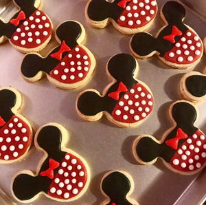 Mini Mouse Decorated Cookies