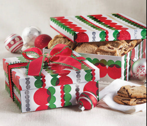 """The Santa Collection"" Holiday Cookie Gift Box"
