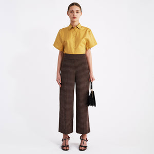 Cropped Jacquard Pants (2036110622789)