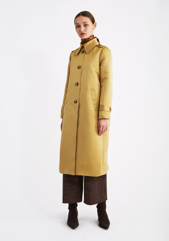 The Coat Yellow
